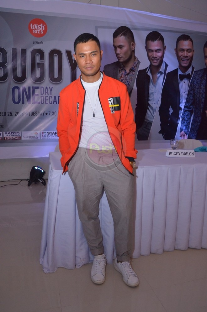 Bugoy is set to have a concert on September 25 at the Kia Theater.