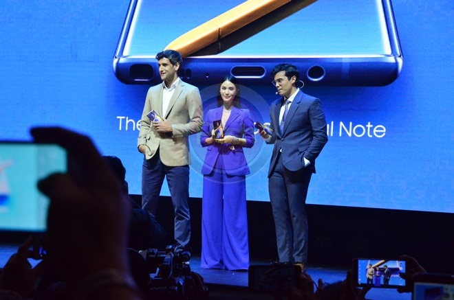 Heart, Nico and Erwan are now the brand ambassadors of Samsung Galaxy Note 9.