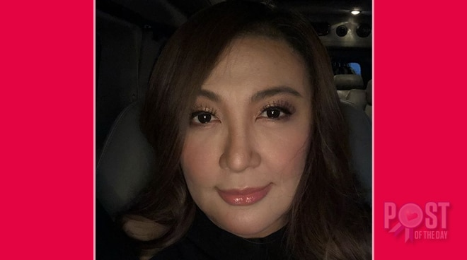 Sharon Cuneta shows off her 'no filter' look