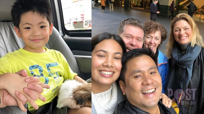 This is how Nate Alcasid found out that his father Ogie Alcasid was once married to his ninang Michelle Van Eimeren