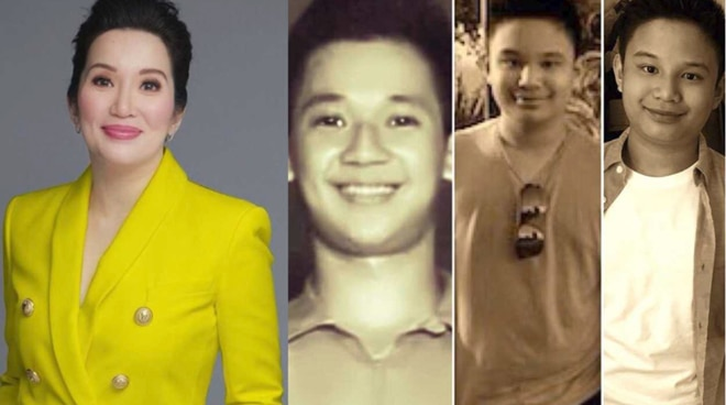 LOOK: Kris Aquino shares 'lookalike' photos of father Ninoy Aquino and son Bimby