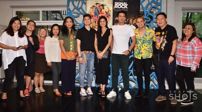 Cast ng Unli Life at Signal Rock, masaya sa success ng kanilang mga pelikula