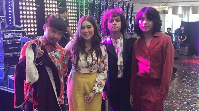 Moira dela Torre is working on a song with IV Of Spades