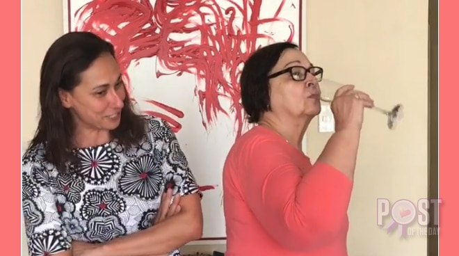 WATCH: Cherie Gil and mother Rosemarie Gil reenact famous 'Bituing Walang Ningning' scene