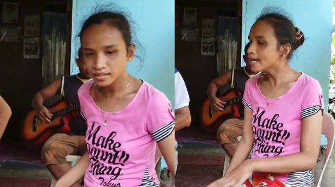 TRENDING: Babaeng bulag sa probinsya, pinamangha ang netizens dahil sa kanyang kilabot na boses