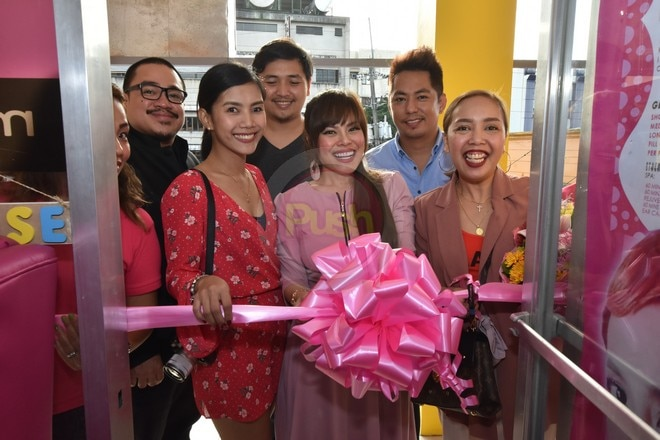Comedienne-actress Kakai Bautista and her partner formally opened Nail Lounge By: Asia's in Pasig.