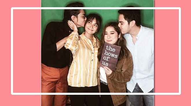LOOK: Couple pic of KathNiel, Moira and fiance make netizens kilig