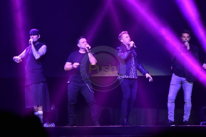 90s boyband Boyzone performed their 90s hits like Love Me For A Reason, among others.