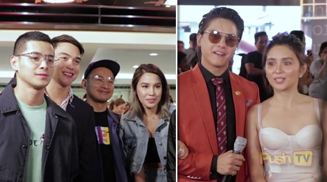 "Celebrities show support for KathNiel's blockbuster film ""The Hows Of Us"""