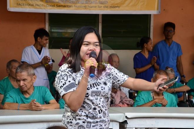 Kapamilya stars made grandparents happy at the Good Samaritan Home For The Elderly