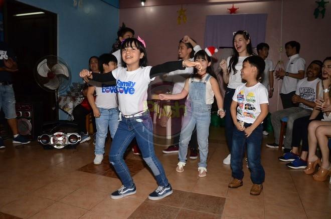Celebs show love for kids of St. Maria de Mattias Center.