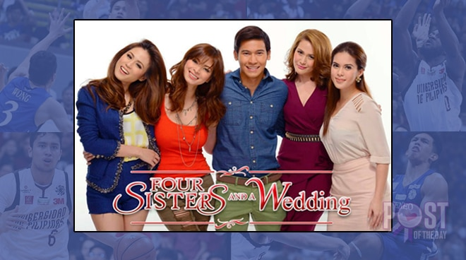 TRENDING: How 'Four Sisters and a Wedding' got involved in the Ateneo vs UP finals