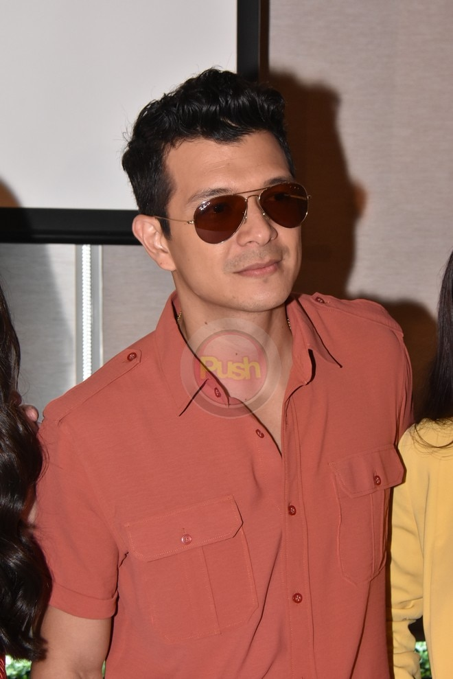 An entry to the 2018 MMFF, The Girl in the Orange Dress also stars Jericho Rosales.