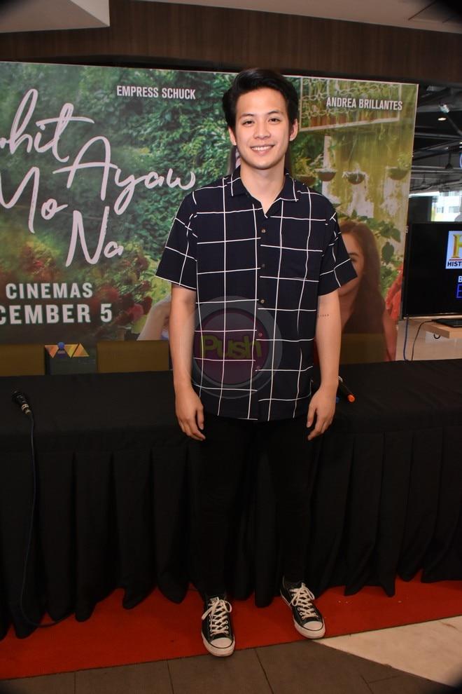 'Kahit Ayaw Mo Na' to hit local cinemas on December 5.