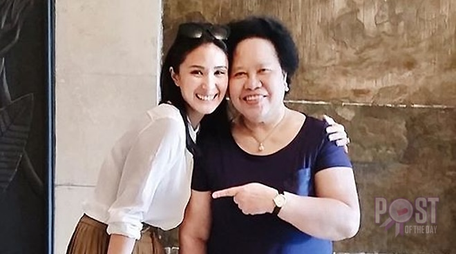 Heart Evangelista pays tribute to Quezon Service Cross-awardee Miriam Defensor-Santiago