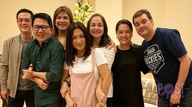 """LOOK: 34 years after, """"Bagets"""" cast reunites to celebrate Christmas"""