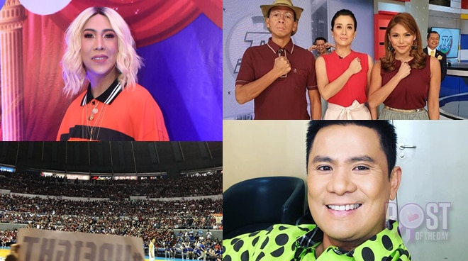 'A sea of UP': Celebs in awe of UP supporters' energy in the 'Battle of Katipunan'