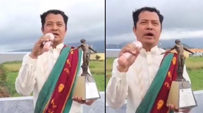 VIRAL: UP Professor goes viral for showing support to UPMBT in the most comical way