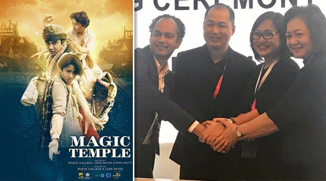 ABS-CBN Films to make new 'Magic Temple' movie with Singapore-based company