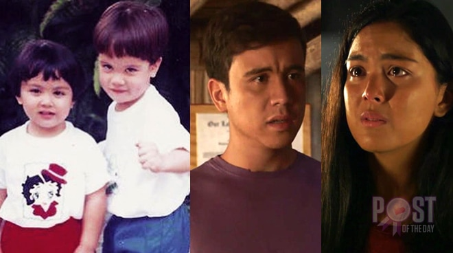 LOOK: Ria, Arjo Atayde post throwback photos after dramatic 'MMK portrayal' of siblings