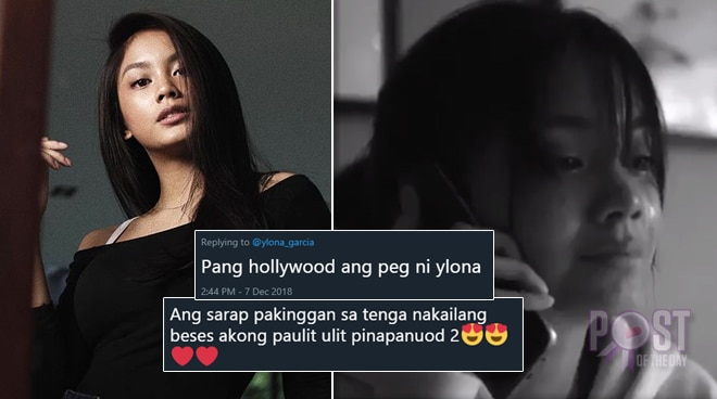 'Pang-Hollywood': Netizens react as Ylona Garcia returns with a teaser video