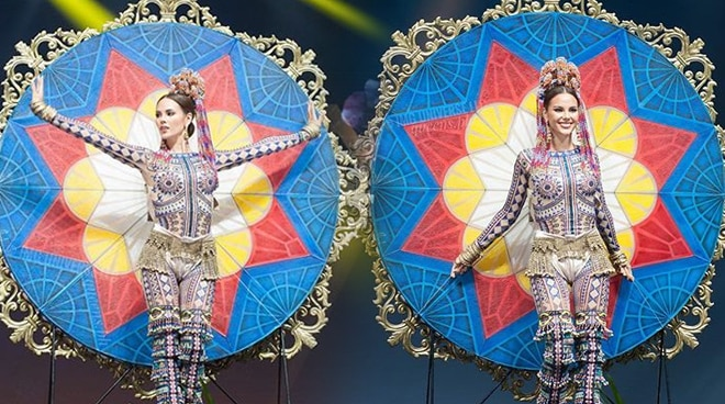 Catriona Gray admits national costume did not light up due to technical problem