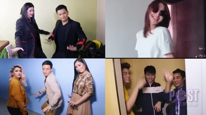 Celebs take on Alex Gonzaga's 'Chambe' dance challenge