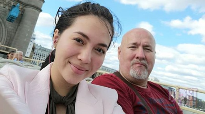 Julia Montes shares message for 'the sweetest man' in her life