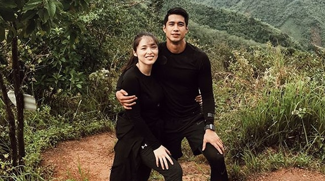 LOOK: Kylie Padilla, Aljur Abrenica kick off honeymoon by hiking