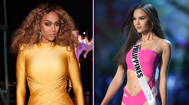 Tyra  Banks reacts to Catriona Gray's trending 'slow motion' walk