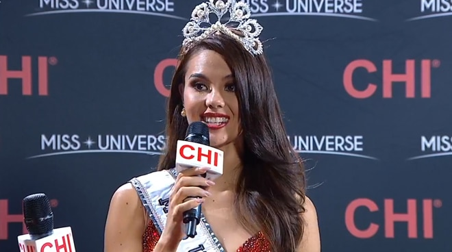 WATCH: Miss Universe 2018 Catriona Gray to Filipino fans: 'I'm so happy to give you the best Christmas gift ever