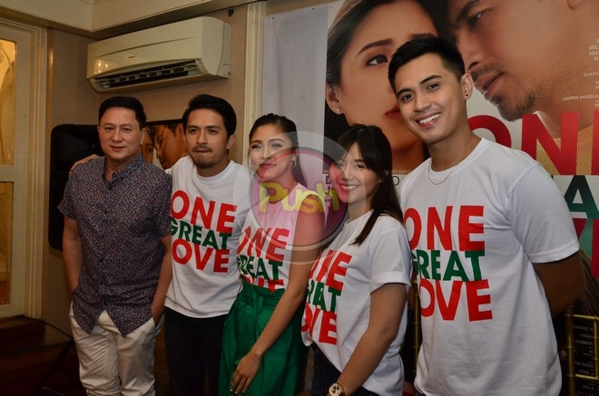 Directed by Eric Quizon, meet the cast of One Great Love.