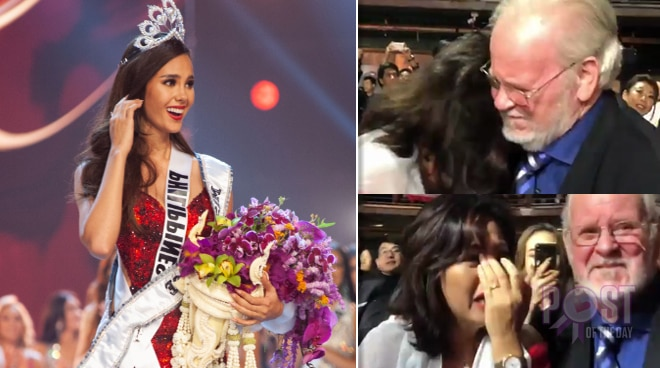WATCH: Parents of Catriona Gray get emotional after Miss Universe winner announcement