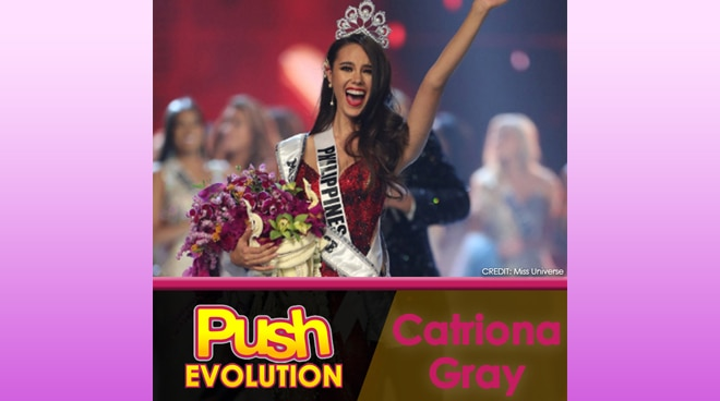 Push Evolution: Catriona Gray