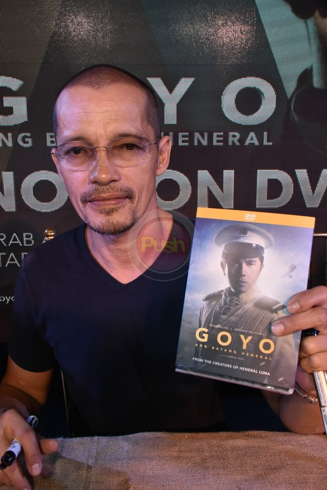 Goyo: Ang Batang Heneral movie is now available on DVD.