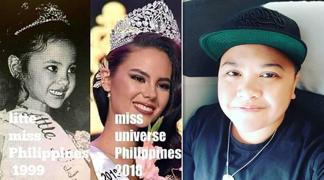 SEE: Ice Seguerra's funny reaction to Catriona Gray winning Little Miss Philippines as a child