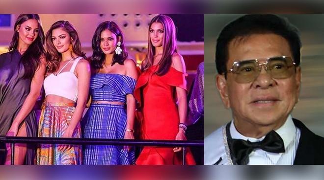 Chavit Singson bagong franchise holder ng Miss Universe Philippines?