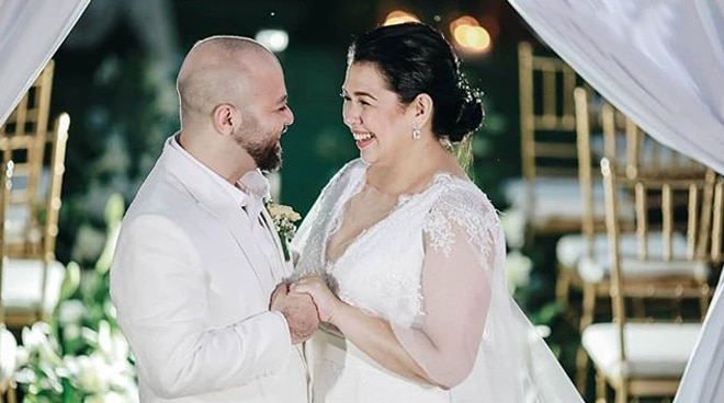 Lotlot de Leon, husband exchange heartfelt wedding vows