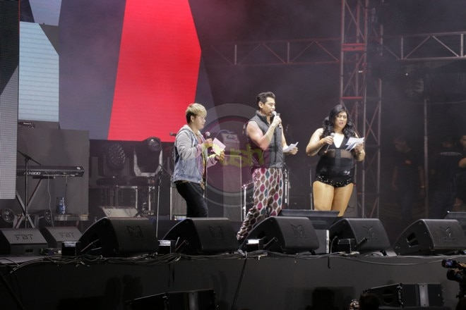 OPM artists performed at the Frontrow Cares Charity Concert.