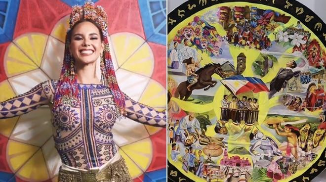 National costume ni Catriona Gray, ipapakita sa iba't ibang museong pambansa