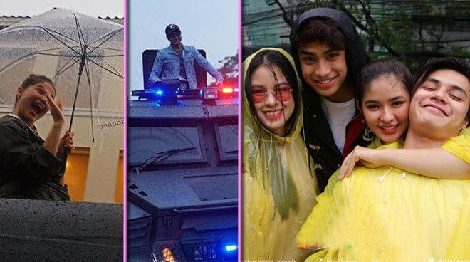ICYM: Celebrities, sumugod sa MMFF Parade kahit umulan at nabalahaw na mga floats