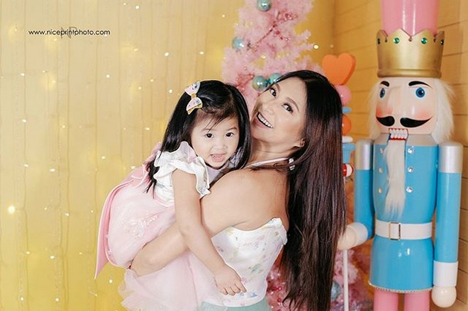 Rufa Mae Quinto and daughter Athena