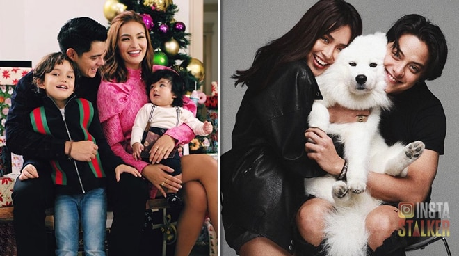 SEE: Celebrities get festive in Christmas family photos