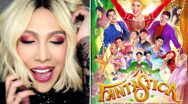 Vice Ganda's 'Fantastica' has reached 100 million pesos on its second day