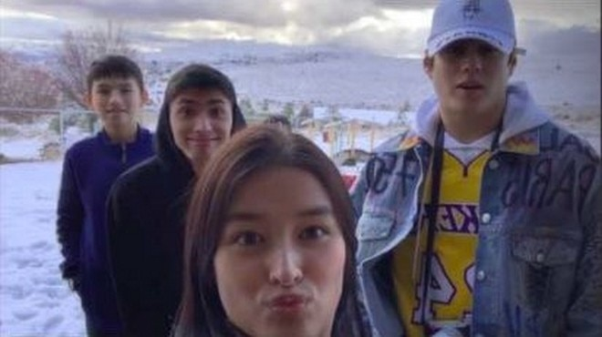 Liza Soberano and Enrique Gil