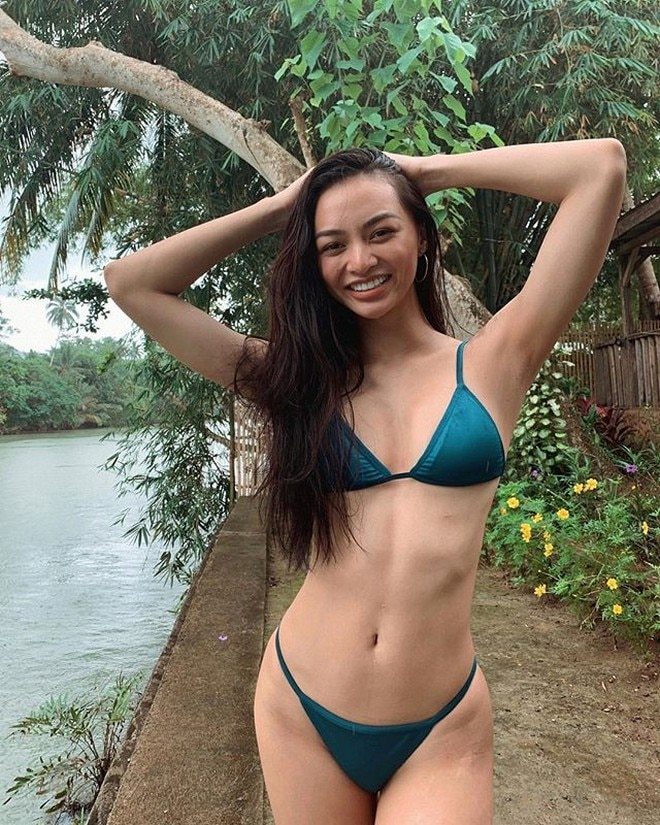 """Kylie Versoza spends """"Christmas by the river."""