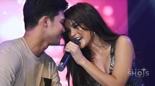 MarNigo's kilig moments at Maris Racal's Stellar grand album launch