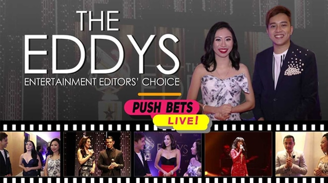 PUSH Bets Live at The EDDYs 2018