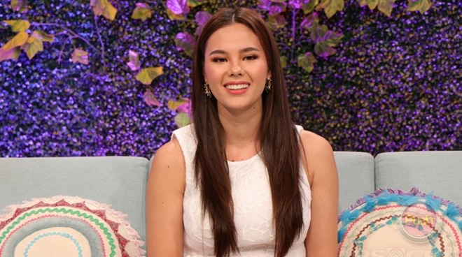 Miss Universe Philippines 2018 Catriona Gray talks about how hard it is for her to be away from her family