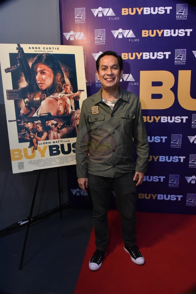 Action film Buy Bust stars Anne Curtis, Brandon Vera, and Arjo Atayde, among others.